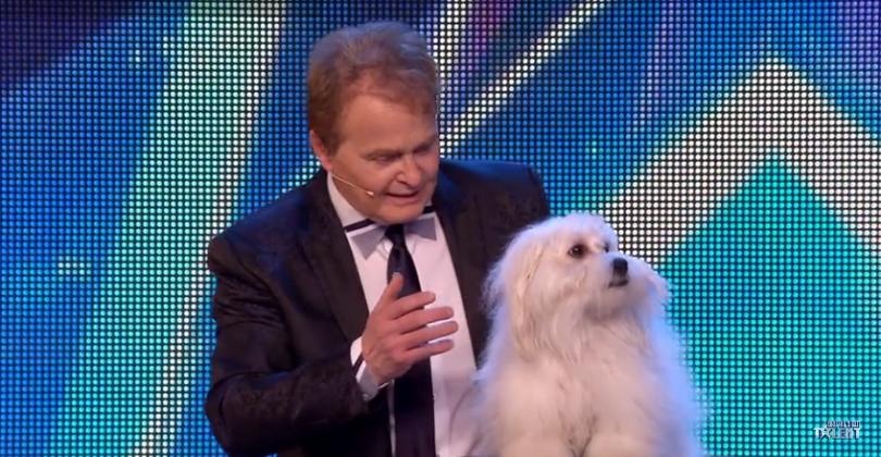 Marc Métral et Wendy dans Britain's Got Talent