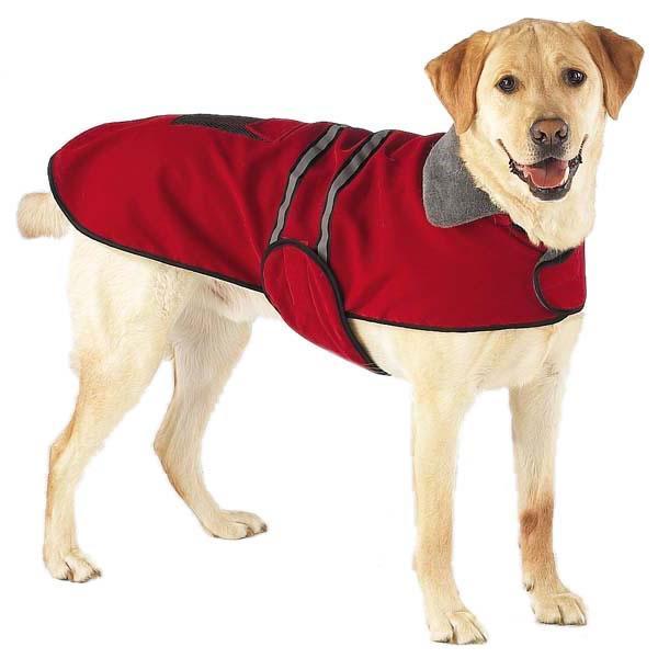 manteau-pour-chien-impermeable-rouge