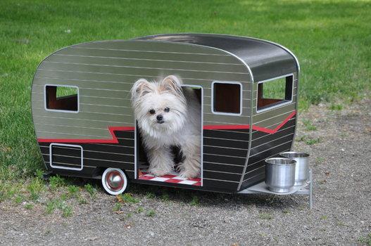 Comment construire une niche pour votre chien blog canin - Fabriquer une niche pour chien facile ...