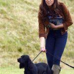 Kate Middleton et son chien