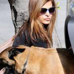 eva mendes et son chien