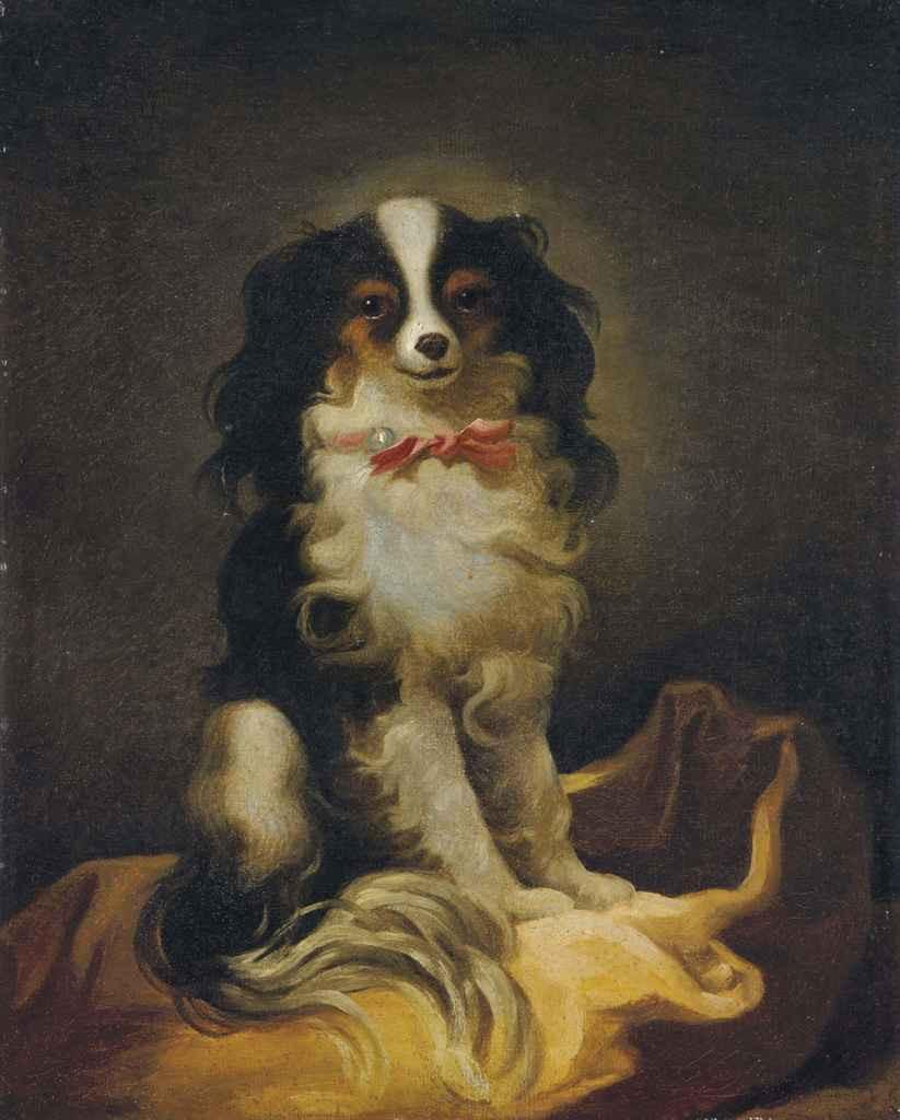 Portrait Cavalier King Charles au 18ème siècle