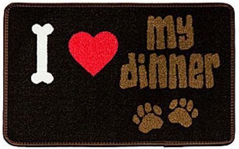 tapis pour gamelle pour chien